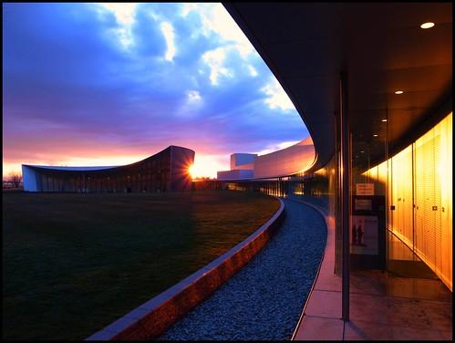 sunset japan museum architecture gunma tatebayashi 館林