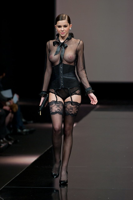 a167a248ef 35 year of Lise Charmel - fashion show event | Model Madelin… | Flickr