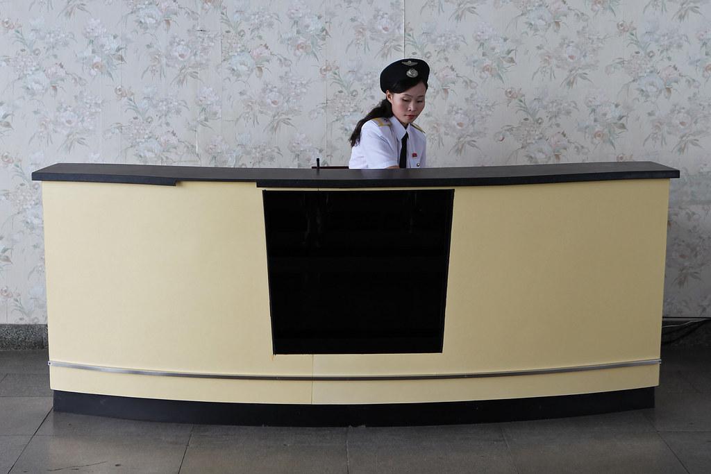 North Korea - Airport officier