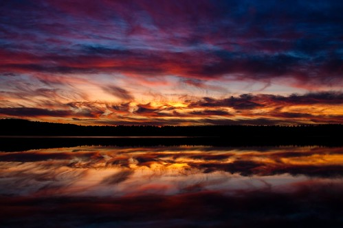 sunset reflection newhampshire auburn nh therocks lakemassabesic peterbroom