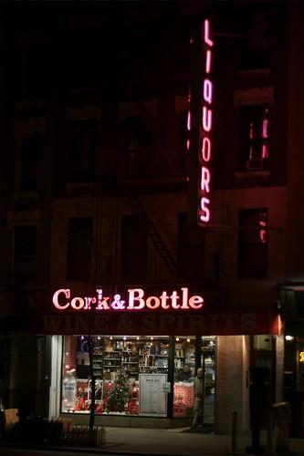 Cork & Bottle Liquors   by catasterist