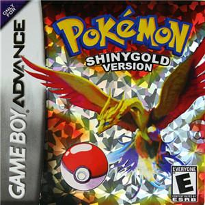 ND Nintendo NDSL Game Card GBA Pokemon-Shiny Gold   Pokemon