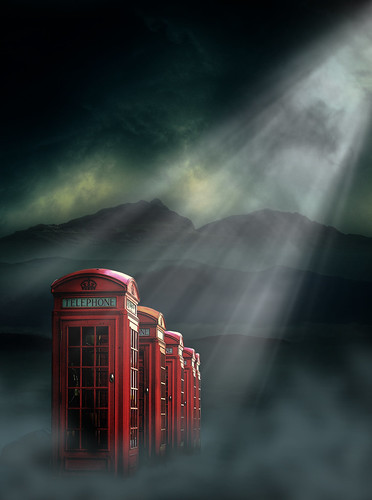 uk light red night clouds photoshop landscape call phonebooth telephone surreal australia melbourne manipulation victoria communication fantasy montage coventgarden 365 heavens atmospheric lightrays redphonebox ourtime lightbeam mywinners obsidiandawn umbradenoaptestock artofimages altrafotografia chiaralily kevenlaw