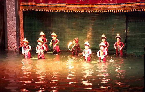 2010 Vietnam Hanoi Water Pupet show IMG_6493.jpg   by Peter Chou Kee Liu