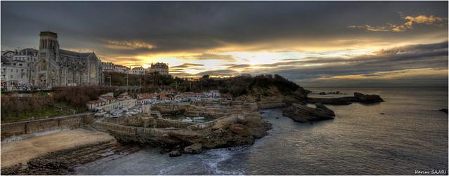 ★ Panorama de Biarritz, le port des pêcheurs ~ Karim SAARI ©