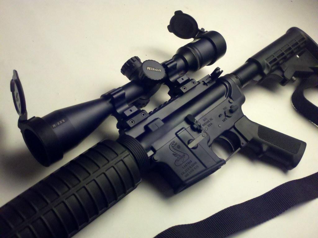 AR15 | Bushmaster M4 O C R 16