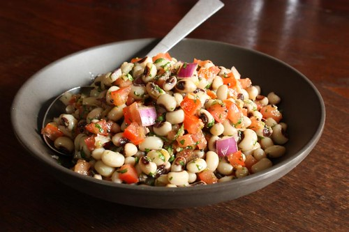 Spicy Indian Black-Eyed Pea Salad | by Andrea_Nguyen
