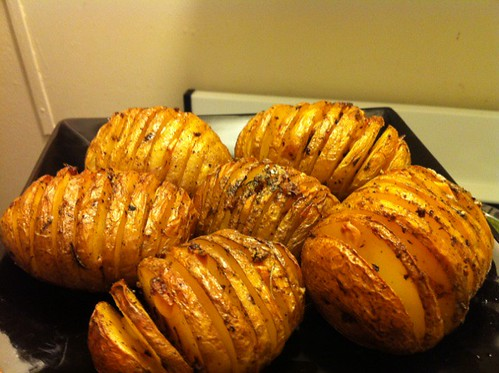 hasselback potatoes | by sass_face