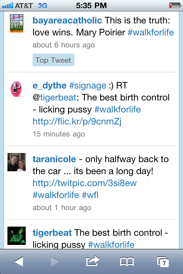 Best Birth Control Licking pussy photo in #walkforlife on