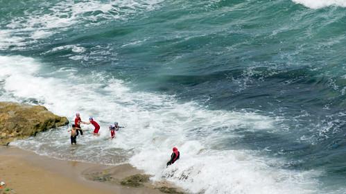 The family and the sea in Alexandria's Sidi Bishr | by Kodak Agfa