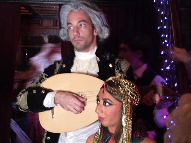 Albert Hammond Jr as Mozart & Corrie Deeb as Cleopatra