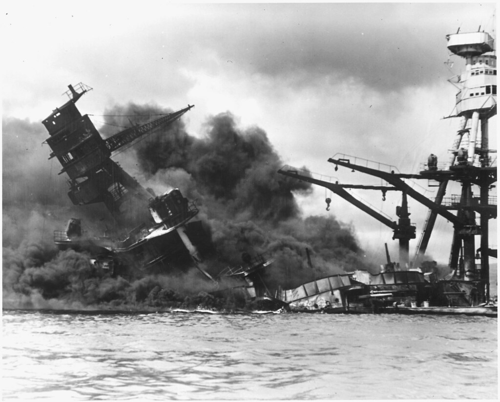 naval photograph documenting the ese attack on pearl flickr