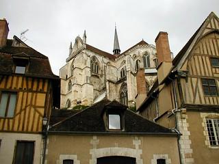 Abbaye Saint-Germain d'Auxerre, France 2005