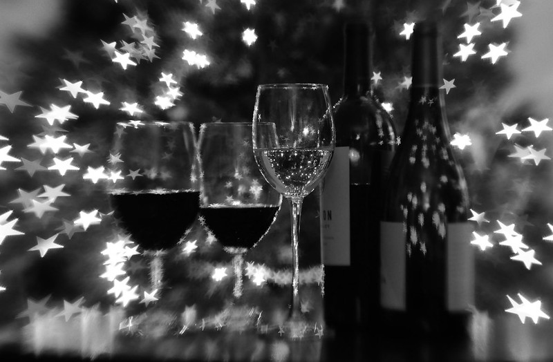 Black and White and Wine