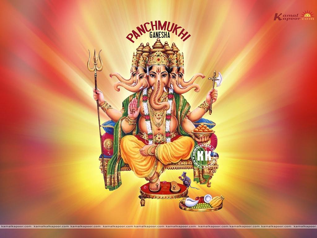 All sizes   panchmukhi ganesh, Free Sri ...