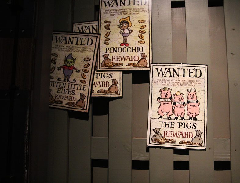 Shrek 4d Wanted Posters I Had Nothing Else To Do While Sta Flickr
