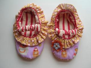 Mary Jane slippers pair