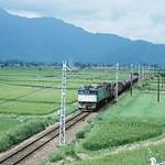 国鉄ED60型電気機関車(1980年/大糸線)2