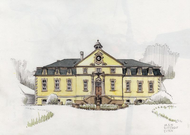 Rittergut Exten · Exten Knight Manor