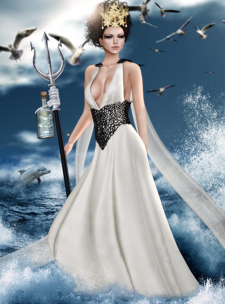 FTH Casting - Greek Mythology   Amphitrite - Goddess of