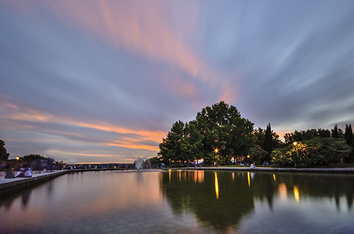 madrid parque sunset sky atardecer spain árboles fuente cielo parquedeloeste