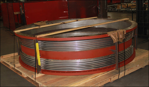 """136"""" Dia. Universal Expansion Joint for a Thermal Power Plant"""
