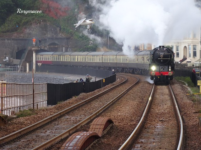 LNER 60163 'Tornado' at Dawlish