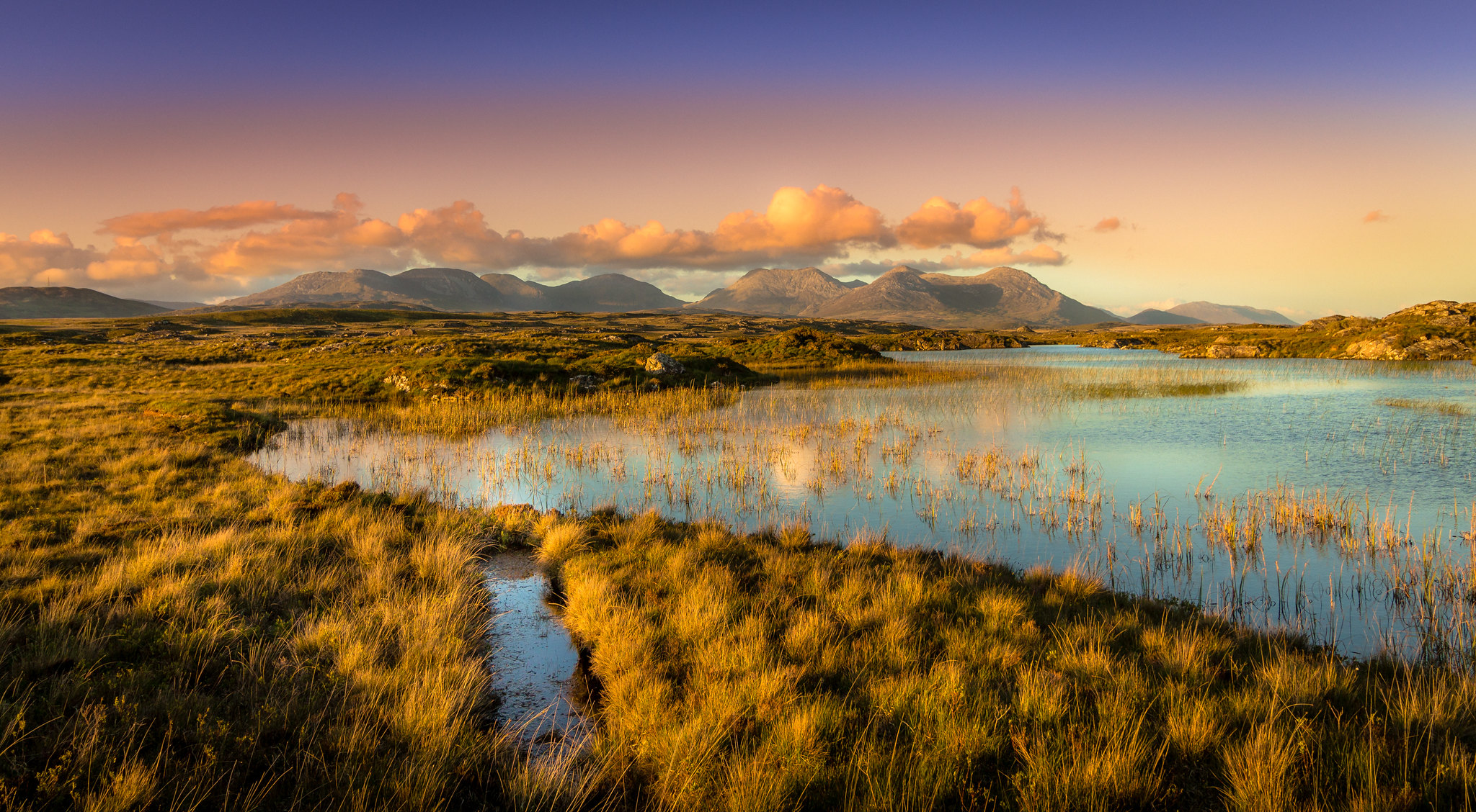 The Twelve Bens, Connemara, Ireland