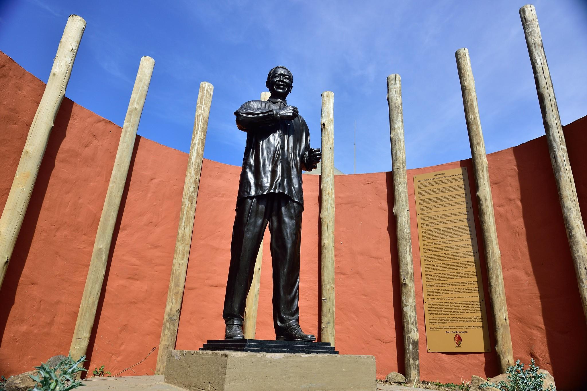 Mandela Statue, Quru, Eastern Cape, South Africa