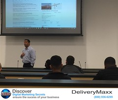 Jason Renteria, Vice President of Sales for DeliveryMaxx, helps teach sales people with Fenton Nissan of Rockwall how to utilize Online Reputation and Social Media Marketing to better their automotive sales and CSI.