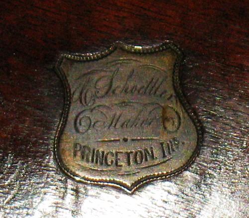 C. Schoettler ~ Maker~ Princeton, Ills.