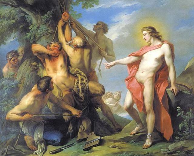 +1735 Apolo y Marsias