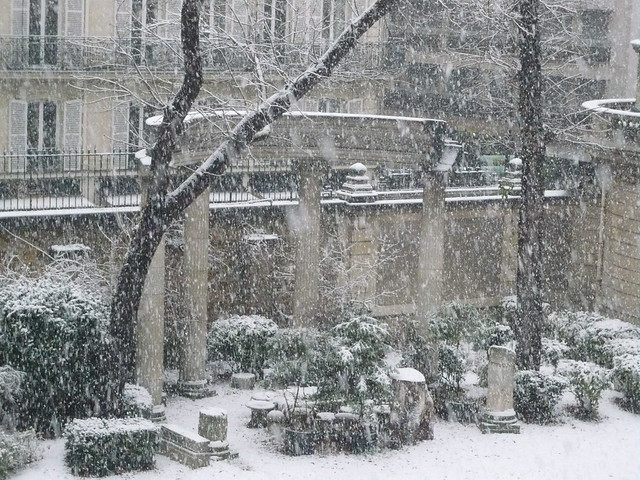 meanwhile, in paris...