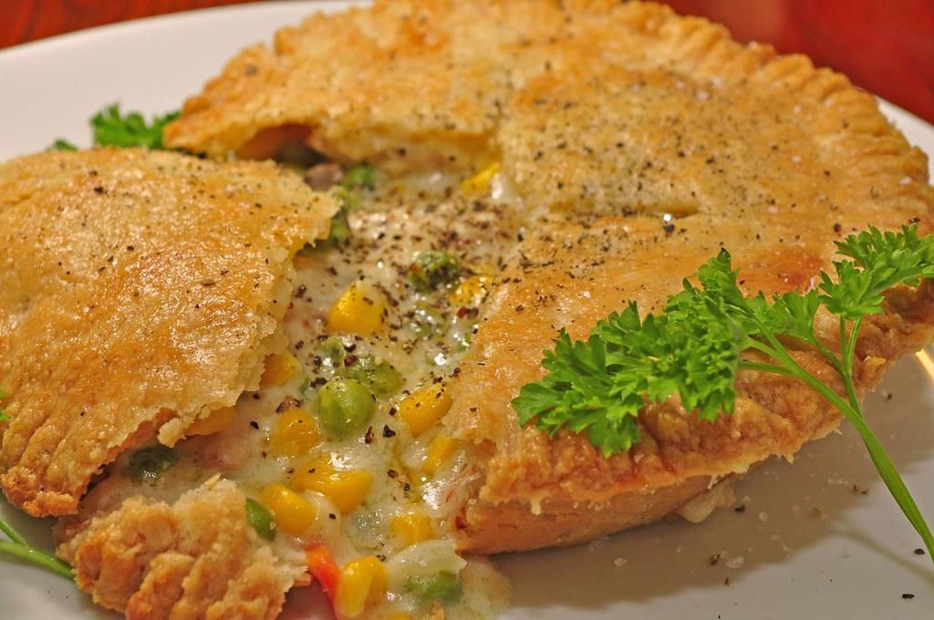 by jeffreyw Mmm... chicken pot pie! - by jeffreyw