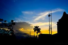 Pôr do sol em espaço urbano - Sobral (Sunset at urban scene)
