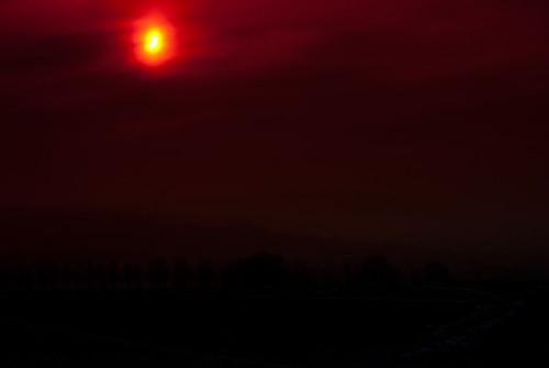 Sonnenfinsternis über Egringen