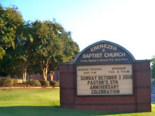 Ebenezer Baptist Church   by Skychi Travels