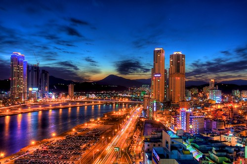 rooftop night asia korea hdr ulsan eveninglights urbanex 울산 rooftopping 성남동 pwpartlycloudy