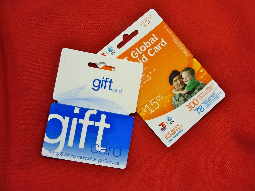 Army and Air Force Exchange Service Gift and Phone Cards   Flickr