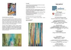 2011. január 11. 15:30 - Vallon B. Marcelle és Basilides Bálint Géza kiállítása