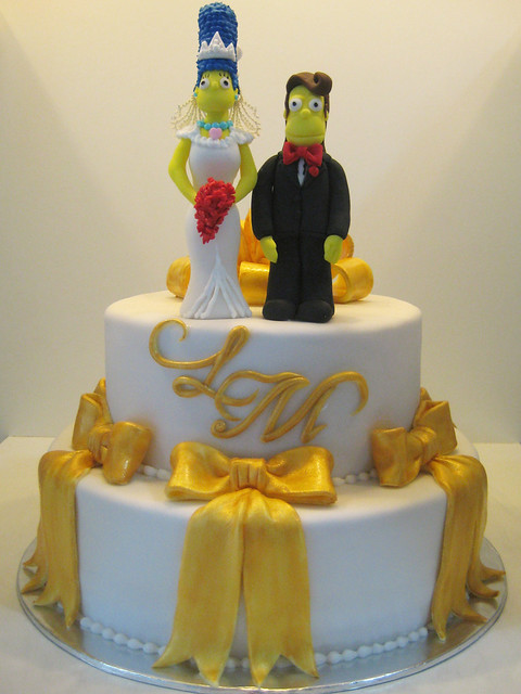 simpsons wedding