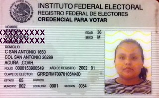 Did you know, a Photo Voter ID card is required in Mexico. | by Voices Empower with Alice Linahan