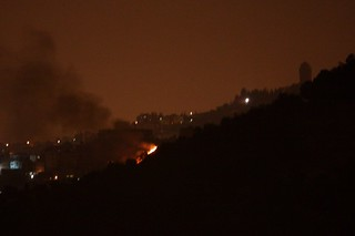 Fire near Al Zaim | by Avital Pinnick