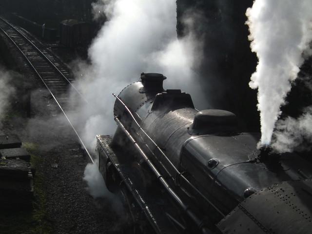 DSCF0101  Letting off Steam