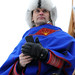 A Saami man in a national costume, Tromsø / Norway