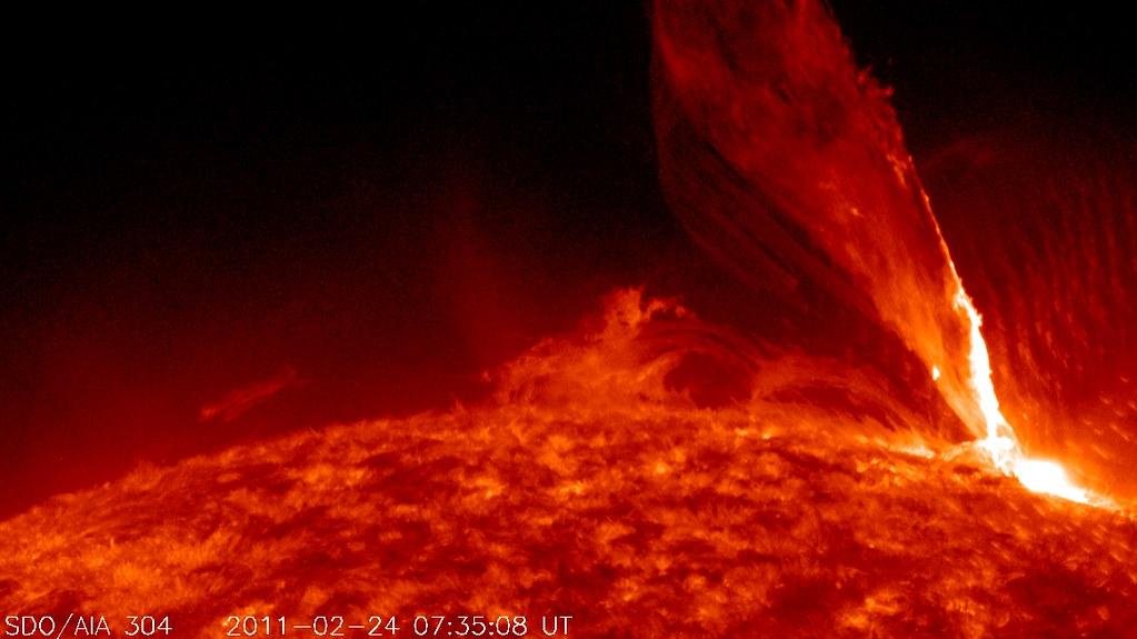 NASA's SDO Captures a Monster Prominence [video]