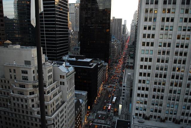 NYC 5e avenue depuis salon de ning