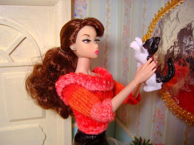 Penelope in sweater w Fiona #4