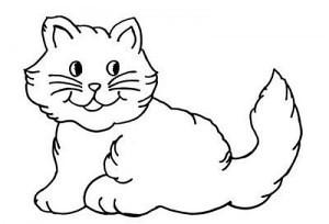 gato-desenhos-de-animais-para-colorir-300x204 ...