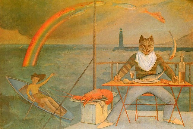 [ B ] Balthus - Catering from the Mediterranean Sea (1949)